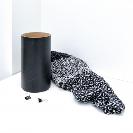 LOOP-Einzelhülse schwarz