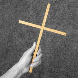 Holzkreuz aus Eiche