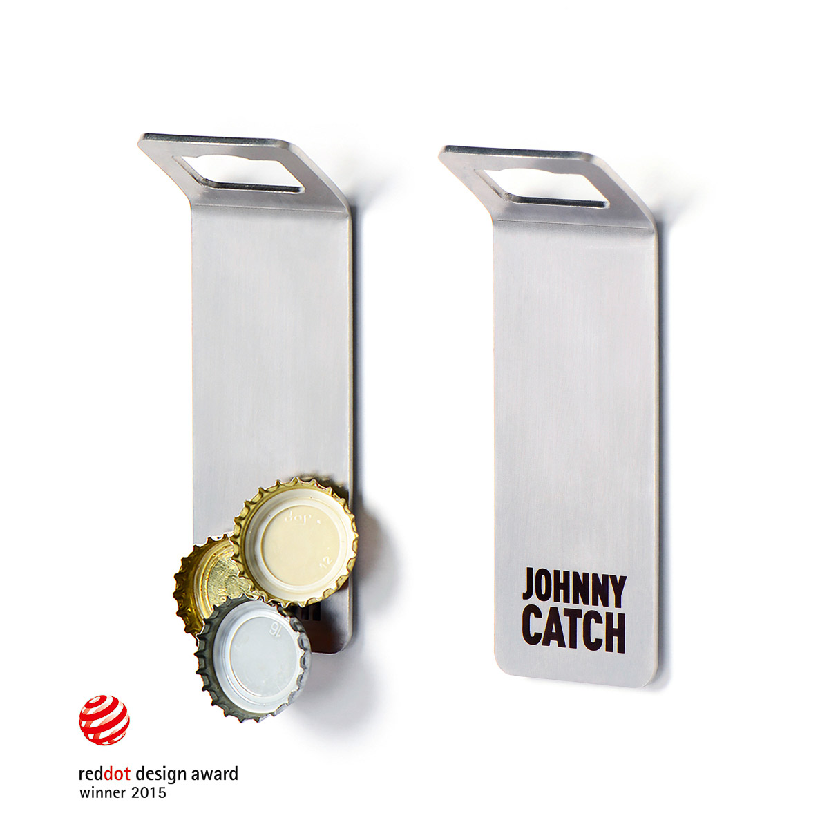 johnny catch magnet flaschen ffner kaufen corpus delicti design hamburg wir machen geschenke. Black Bedroom Furniture Sets. Home Design Ideas
