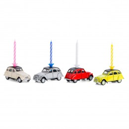 Kerze auf Rädern– Citroën2CV