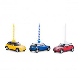 Kerze auf Rädern– MiniCooper