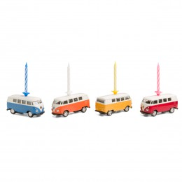 Kerze auf Rädern– VWBus