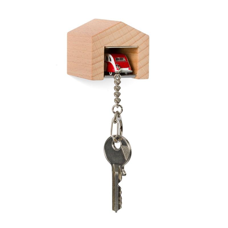 Garage mit Schlüsselanhänger– Citroën2CVDolly