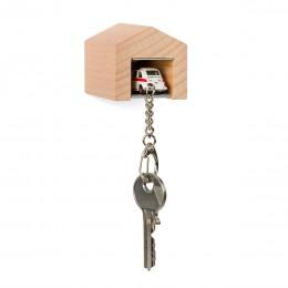 Garage mit Schlüsselanhänger– Fiat500Sport