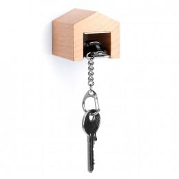 Garage mit Schlüsselanhänger– Porsche356ACarrera schwarz