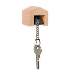 Garage mit Schlüsselanhänger– VWKäfergrau