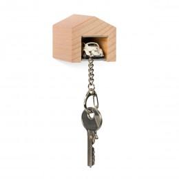 Garage mit Schlüsselanhänger– VWKäferRallye
