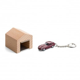 Garage mit Schlüsselanhänger– JaguarE-Type