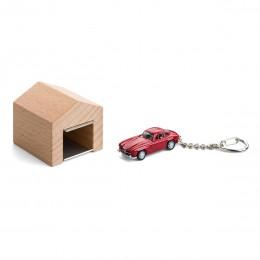 Garage mit Schlüsselanhänger– Mercedes-Benz300SL