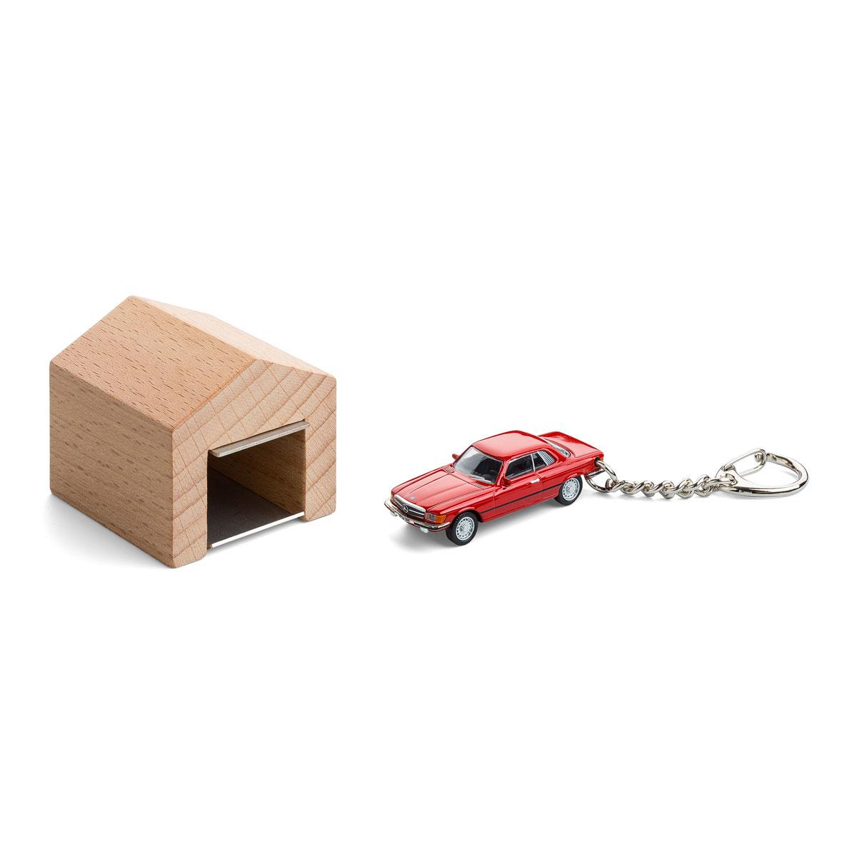 garage mit schl sselanh nger mercedes benz 450 slc kaufen corpus delicti design hamburg. Black Bedroom Furniture Sets. Home Design Ideas