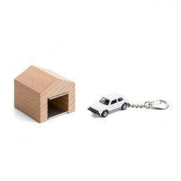 Garage mit Schlüsselanhänger– VWGolfGTII weiß