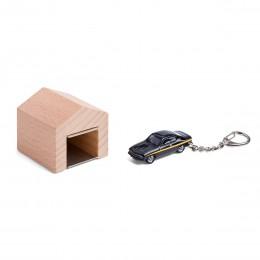 Garage mit Schlüsselanhänger– OpelMantaA Black Magic