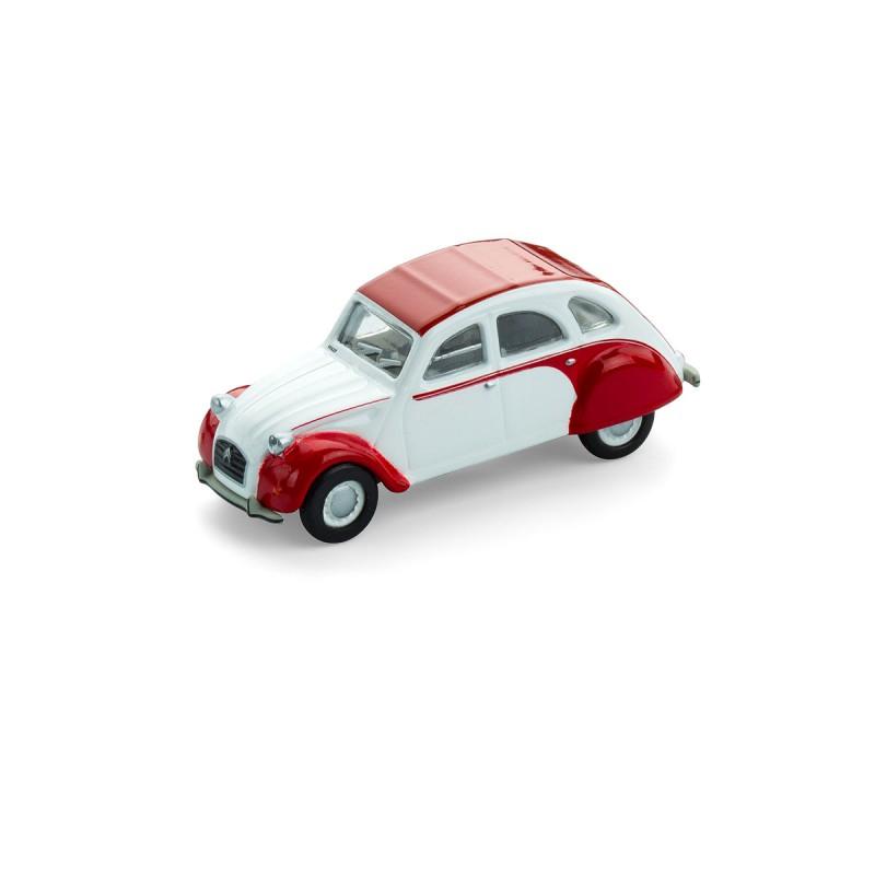 Citroën 2CV Dolly - Ente - Döschwo mit Magnet auf dem Tisch – corpus delicti design Hamburg – Wir machen Geschenke