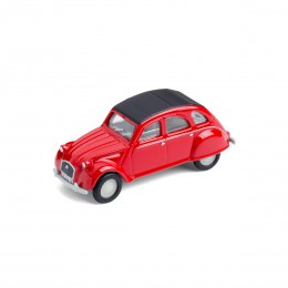 Mini-Pinnwand – Citroën 2CV rot