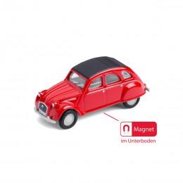 Magnet– Citroën2CV rot