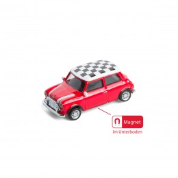 Magnet – Mini Cooper Checker rot