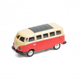 Mini-Pinnwand – VW Bus T1 Samba Bulli rot