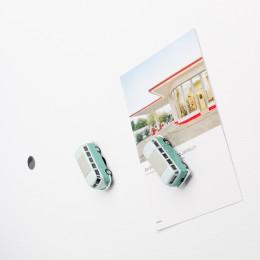Mini-Pinnwand– VWBusT1SambaBulli türkis