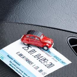 Parkscheinhalter – Citroën2CV rot