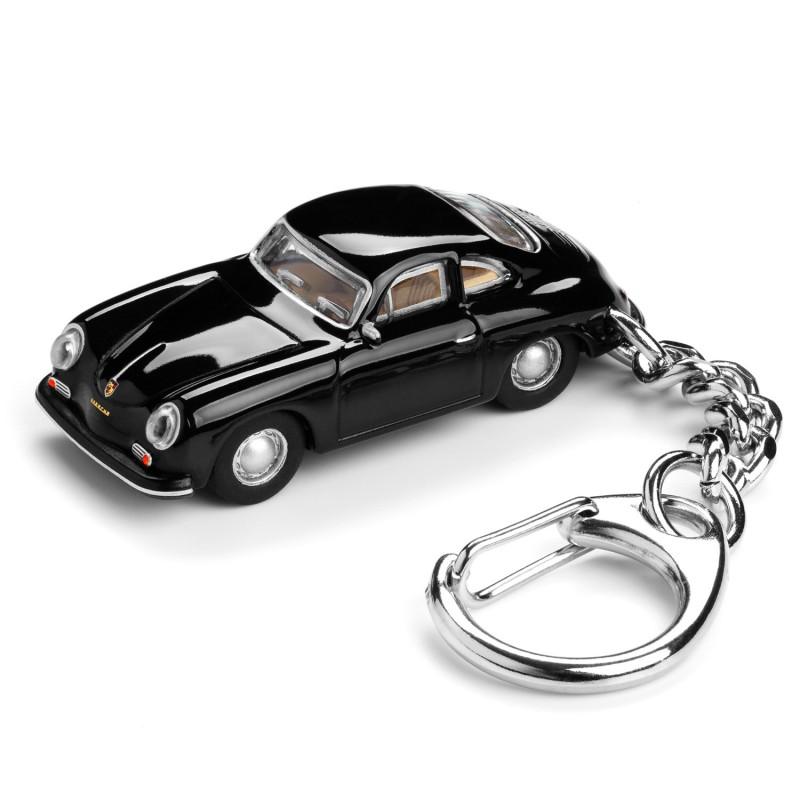 Schlüsselanhänger– Porsche 356 A Carrera schwarz