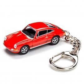 Schlüsselanhänger– Porsche911 S blutorange
