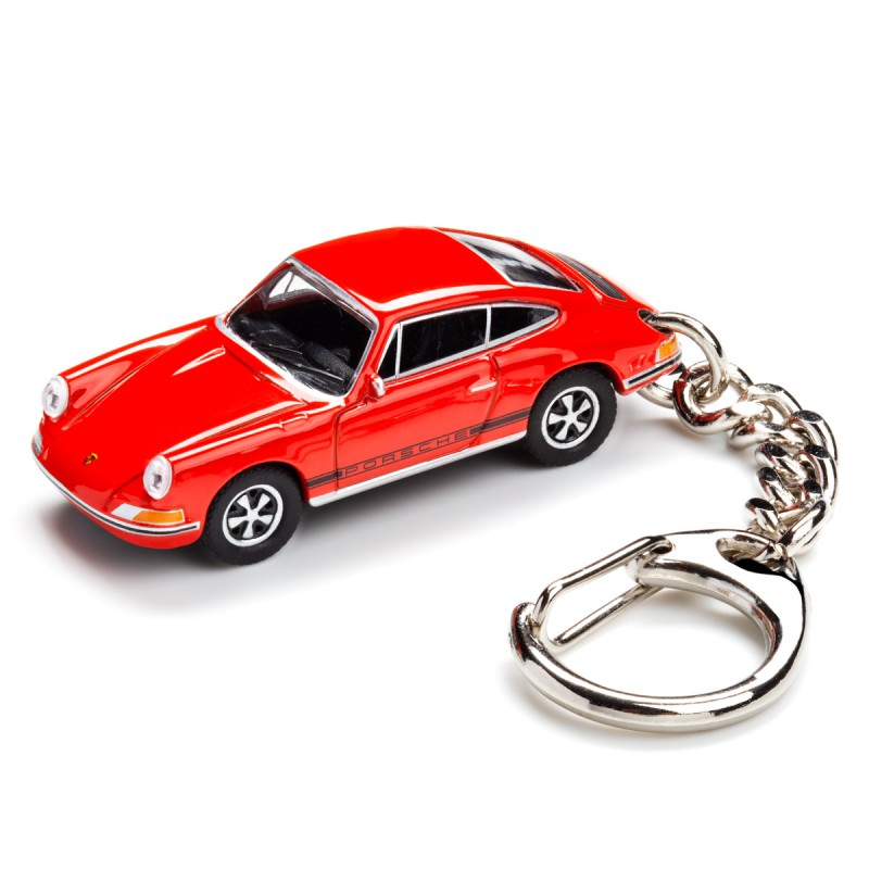Schlüsselanhänger - Porsche 911 S auf dem Tisch Ansicht von vorn – corpus delicti design Hamburg – Wir machen Geschenke