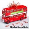 London Bus – Büroklammerspender Roadmaster mit Beschreibung auf dem Tisch – corpus delicti design Hamburg