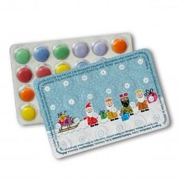 Mini-Adventskalender mit Schokolinsen