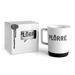 Plörre - Porzellanbecher