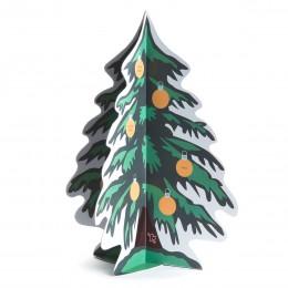 Rubbel-Adventskalender - Tannenbaum