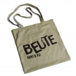 Santa Fu Beutel BEUTE auf dem Tisch – corpus delicti design Hamburg – Wir machen Geschenke