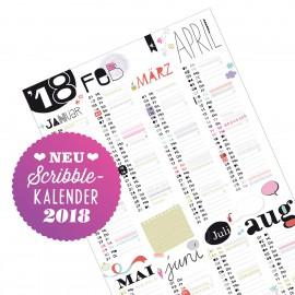 Scribble Wandkalender