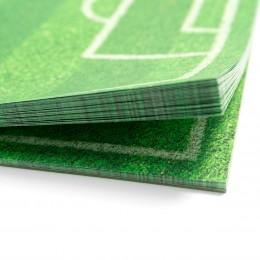 Papier-Tischsets – CHAMPION (Fußballfeld)