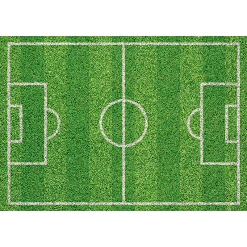 Papier-Tischsets – praktische Platzsets als Abreißblock – CHAMPION (Fußballfeld) in der Draufsicht – corpus delicti design Hamburg – Wir machen Geschenke