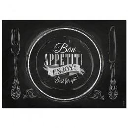 Papier-Tischsets – BON APPETIT (ENJOY)