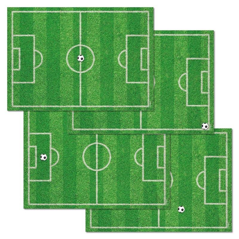 Papier-Tischsets – praktische Platzsets als Abreißblock – Football alle Motive Draufsicht – corpus delicti design Hamburg – Wir machen Geschenke