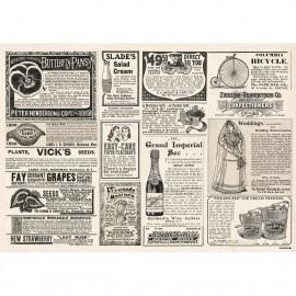Papier-Tischsets – NEWSPAPER