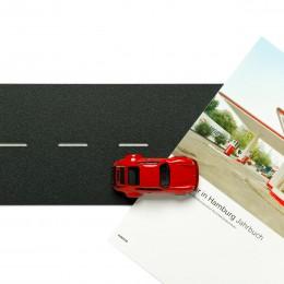 Wall Street – Magnetboard Porsche934RSRrot