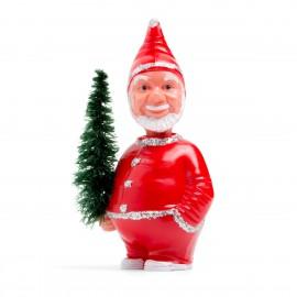 Weihnachtsmann mit Wackelkopf