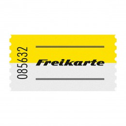 Wertmarke FREIKARTE