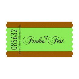Wertmarke FROHES FEST