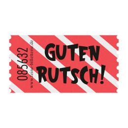 Wertmarke GUTEN RUTSCH