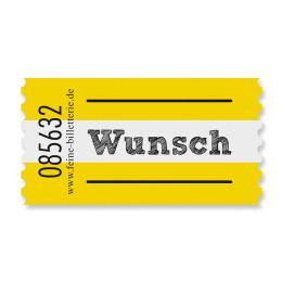 Wertmarke WUNSCH